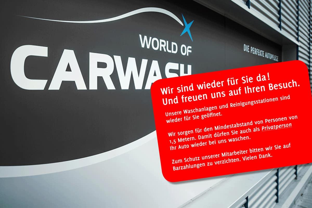 World-of-Carwash-Corona-Oefffnungszeiten